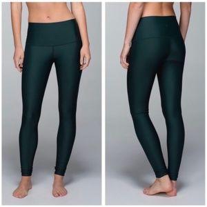 Lululemon SHINE leggings size 6 NEW - rare TEAL